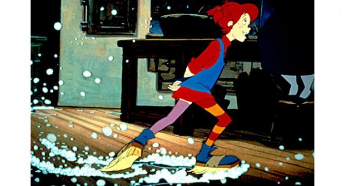 Pippi Langstrømpe flytter inn i Villa Villekulla