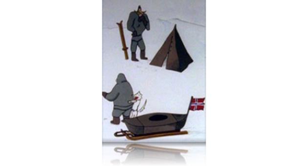 Turen til Nordpolen (16mm)