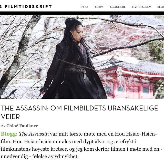 Ukas Zblogg chloefau skriver om The Assassin! Les hele phellip