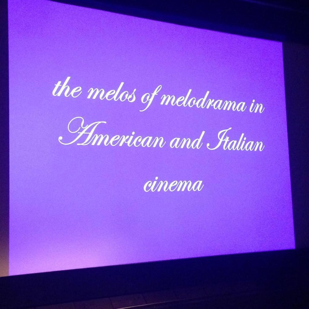 Dag 2 med Richard Dyer! filmsem15 filmseminar filmmusikk melodrama