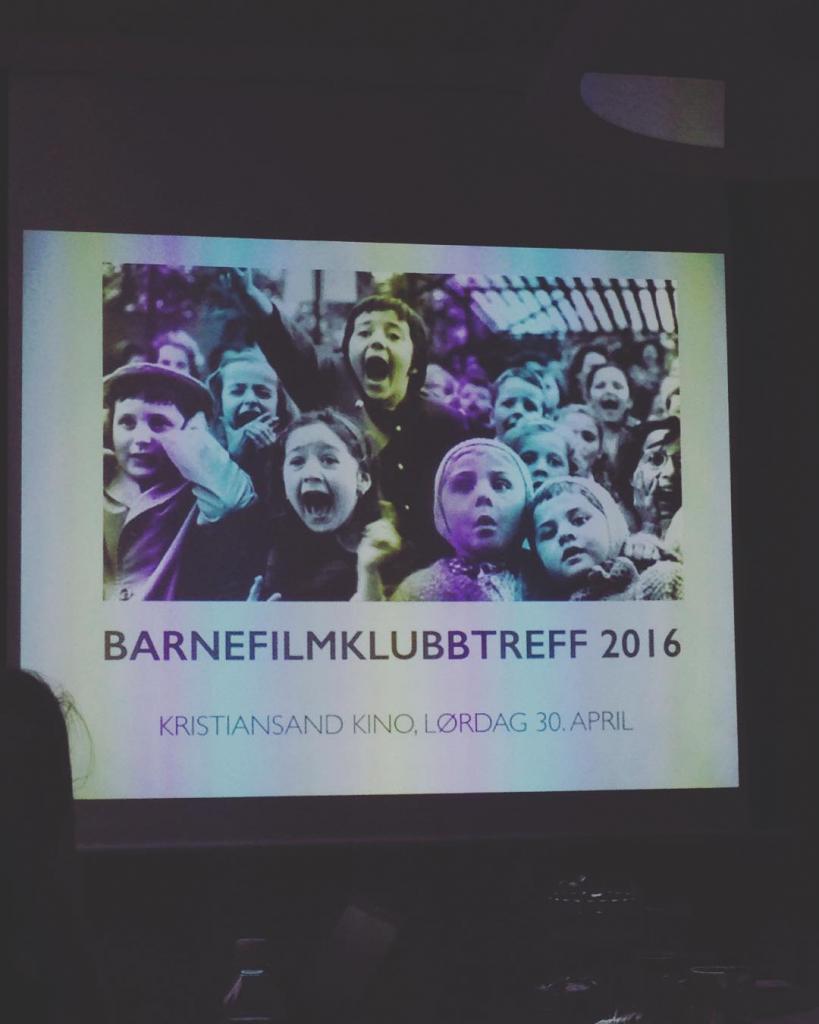 Denne uka er vi p barnefilmfestivalen i Kristiansand I daghellip