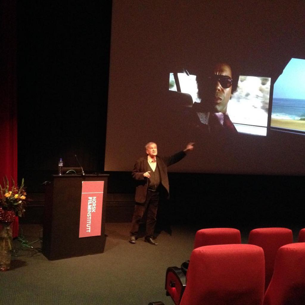 Richard Dyer foredrar om filmmusikk p filmsem15!