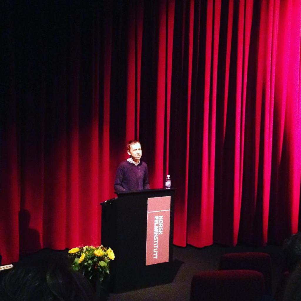Dag Johan Haugerud reflekterer rundt humor i film p filmsem16