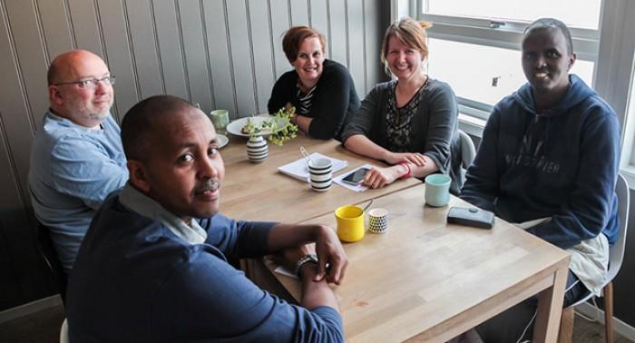 Florø filmklubb integreres i verden