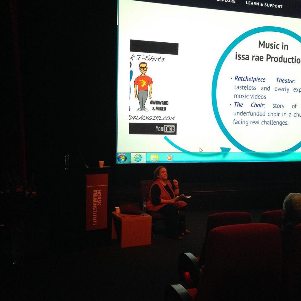 Anahid Kassabian foreleser om webserier filmsem15 filmseminar