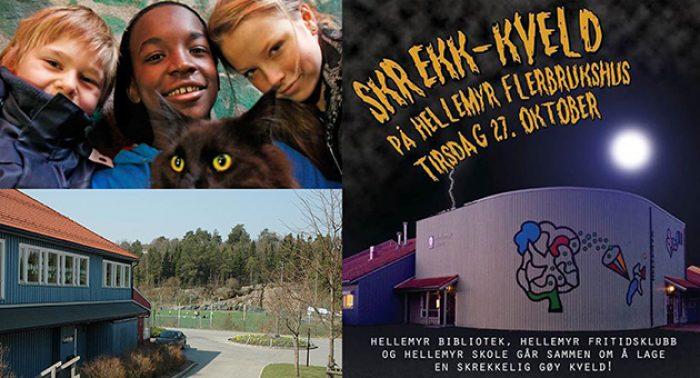 Skrekk og humor i Hellemyr barnefilmklubb