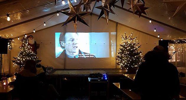 Filmklubb på julemarked
