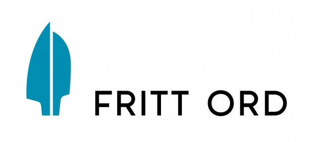 fritt ord logo liggende cmyk