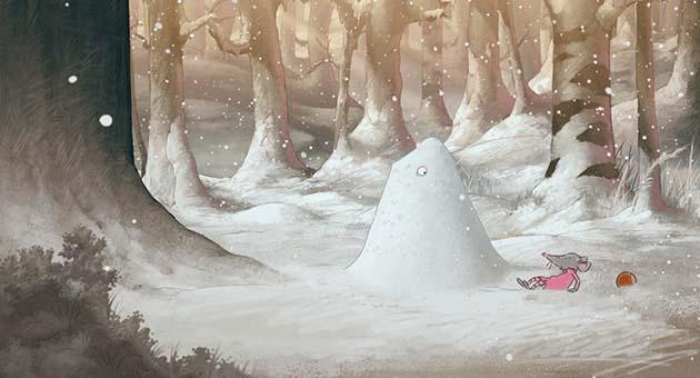 Gordon og Paddy – Nøttemysteriet i skogen
