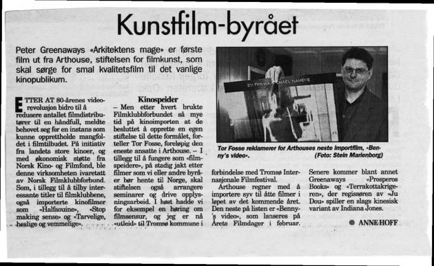 Kunstfilmbyrået Norsk filmklubbforbund
