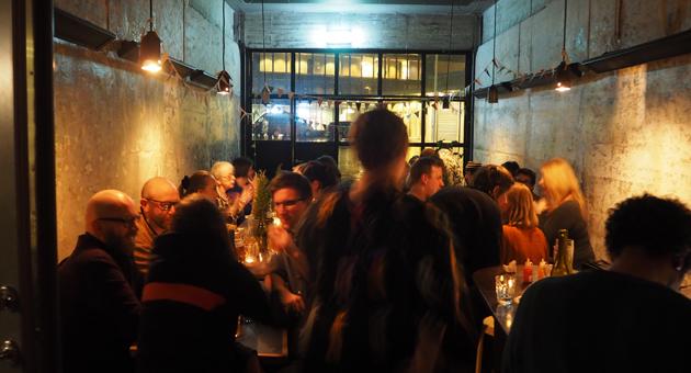 Bergen filmklubb er vertskap for Bergsem, og sørget for middag på Hoggorm.