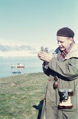Erling J. Nødtvedt, hobbyfotografen.