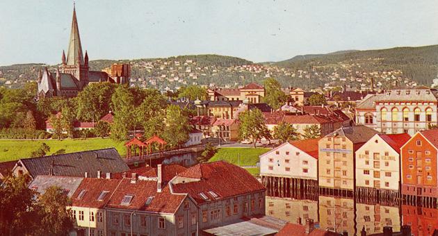 Trondheim på film