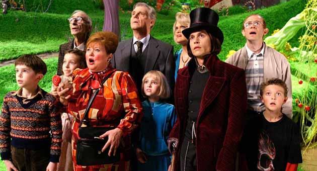 Charlie og sjokoladefabrikken (2005)