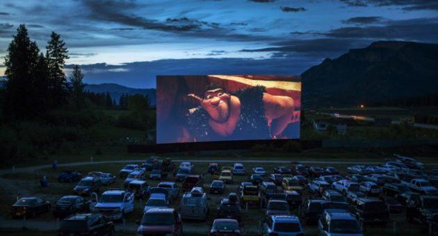 Film på hjul! Hvordan lage drive-in-kino?
