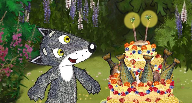 Den vesle grå ulven: fire korte barnefilmer